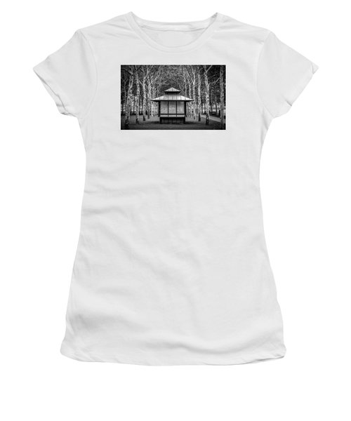 Women's T-Shirt featuring the photograph Pagoda by Steve Stanger