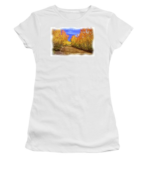 Painted Aspens Women's T-Shirt (Athletic Fit)