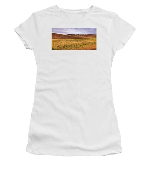 Women's T-Shirt featuring the photograph Palouse Farmland by David Patterson