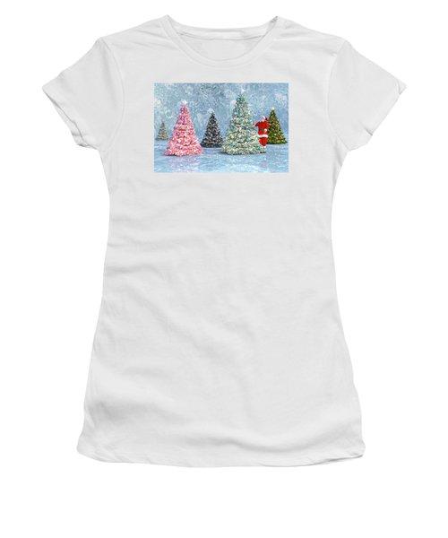 Peaceful Holiday Spirits Women's T-Shirt