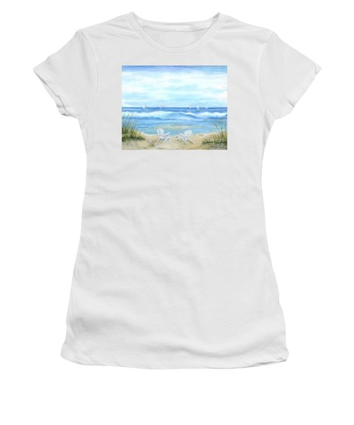 Peaceful Seascape Women's T-Shirt