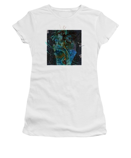 Peacock Feathers Women's T-Shirt