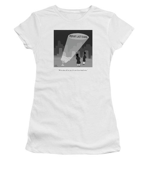 Per My Last Email Women's T-Shirt