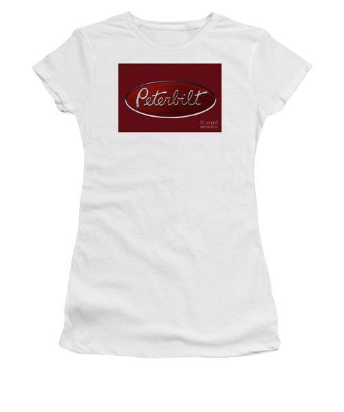Peterbilt Emblem Red 8 Women's T-Shirt