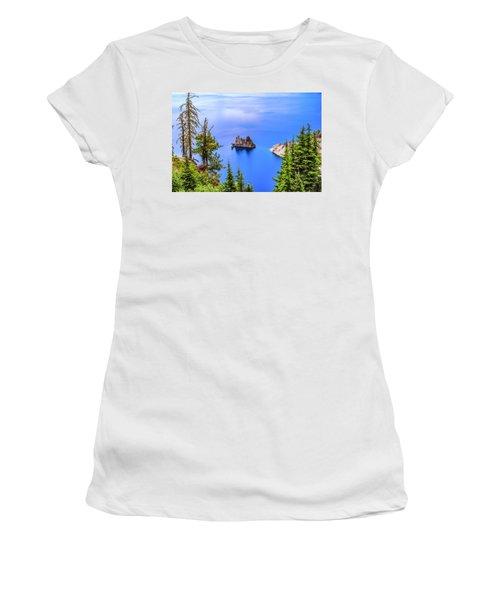 Phantom In Blue Women's T-Shirt