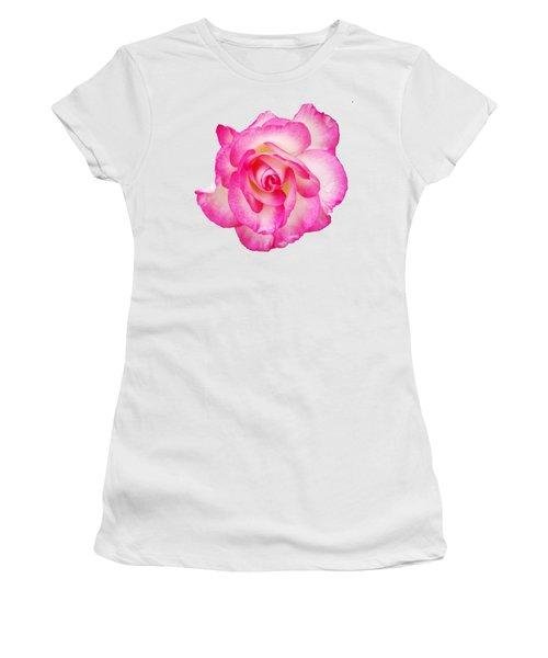 Pink Halo Rose Women's T-Shirt