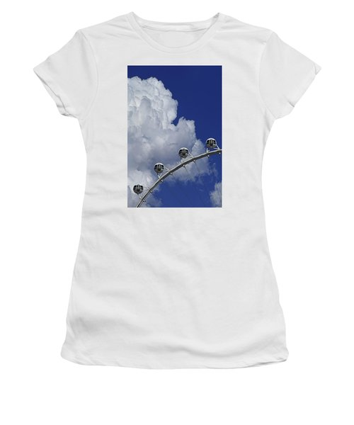 Women's T-Shirt featuring the photograph Pod Cluster 2 by Skip Hunt