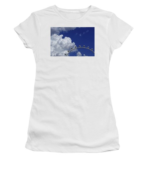 Women's T-Shirt featuring the photograph Pod Cluster 3 by Skip Hunt