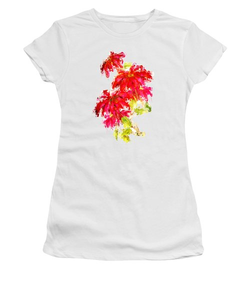 Poinsettia Women's T-Shirt