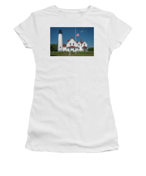 Point Iroquois Lighthouse Women's T-Shirt