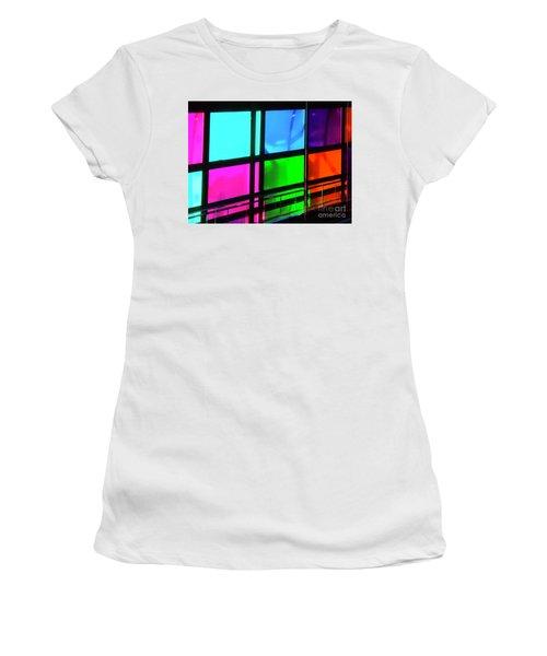 Polychrome Passageway Women's T-Shirt