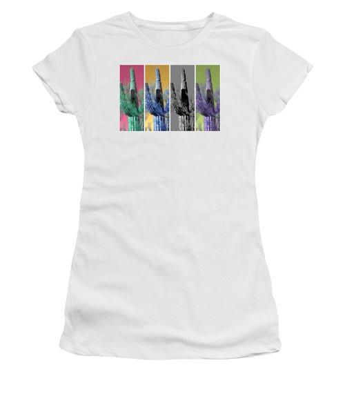 Pop Saguaro Cactus Women's T-Shirt