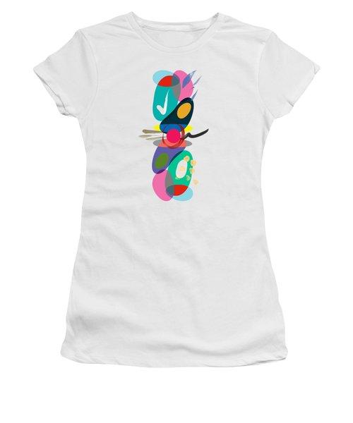 Positive Colors Building Women's T-Shirt