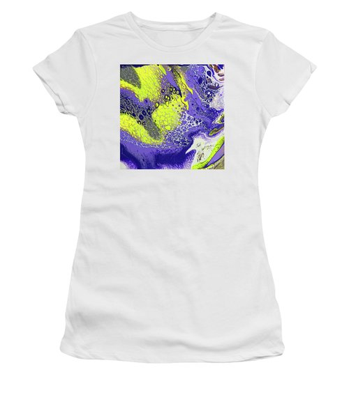 Purple And Yellow Women's T-Shirt