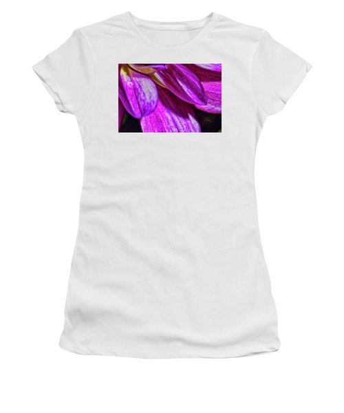 Purple Petals Women's T-Shirt