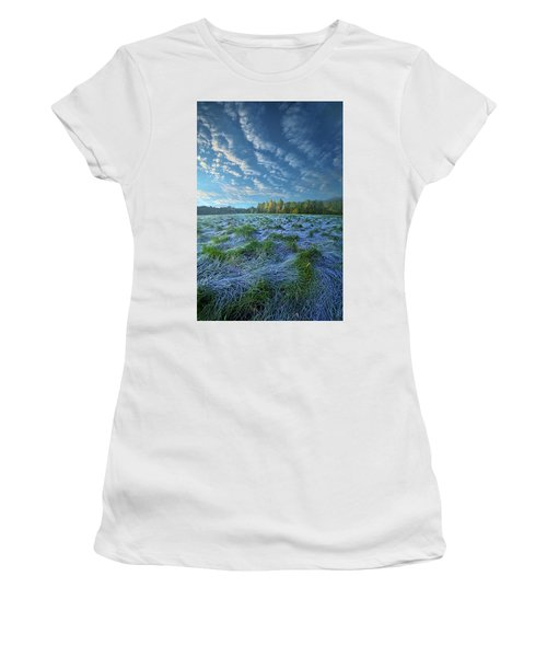 Women's T-Shirt featuring the photograph Quiet Grace by Phil Koch