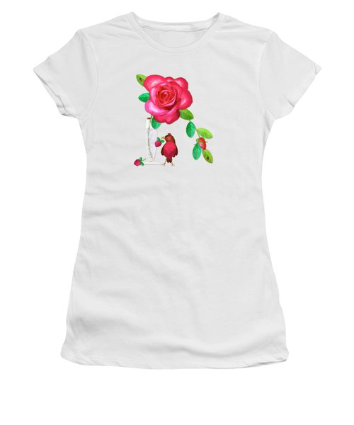 R Is For Rose And Robin Women's T-Shirt