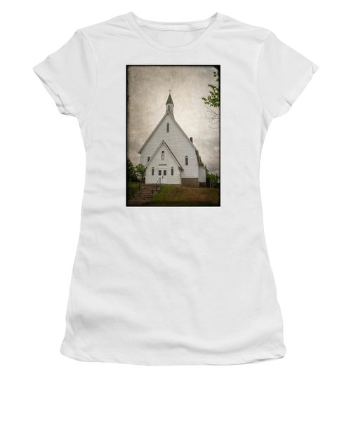 Raquette Lake Chapel Women's T-Shirt