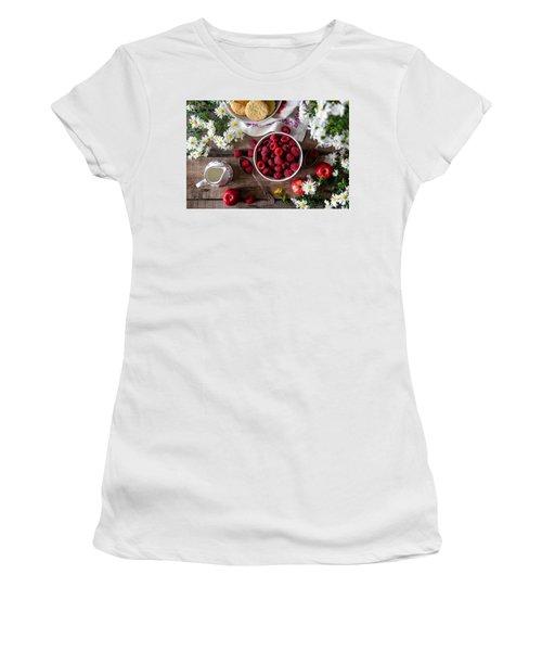 Raspberry Breakfast Women's T-Shirt