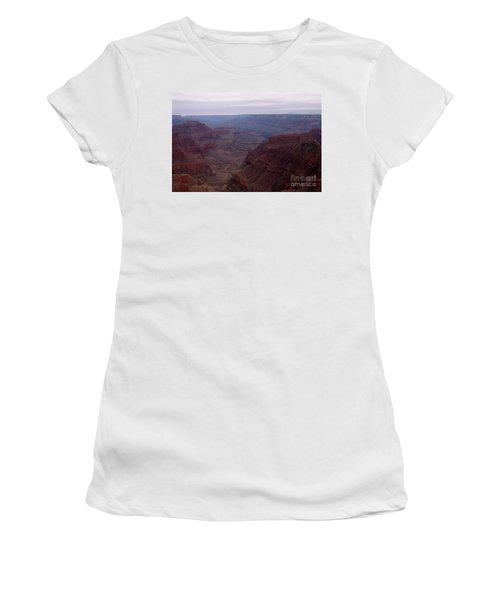 Red Grand Canyon Women's T-Shirt