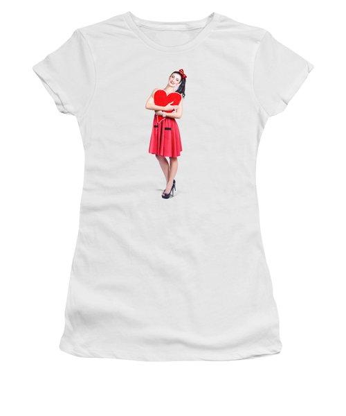 Red Heart Woman Women's T-Shirt