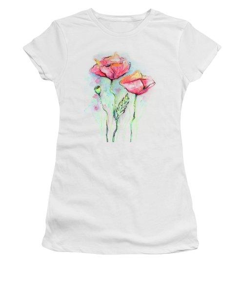 Red Poppies Women's T-Shirt