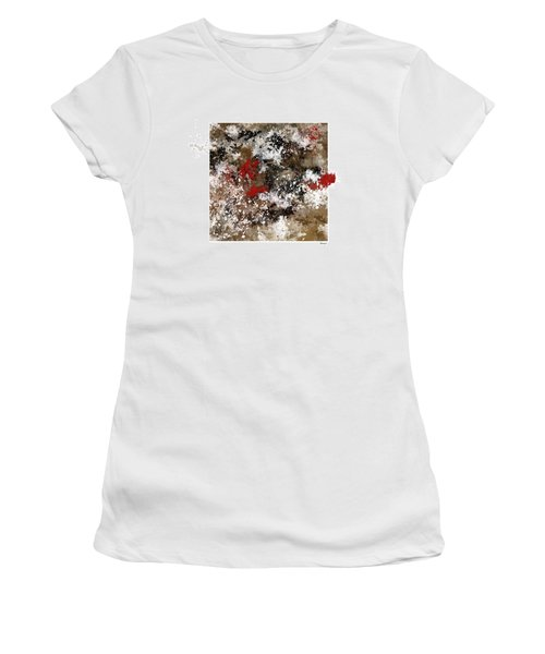 Red Splashes Women's T-Shirt