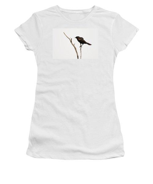 Red Winged Blackbird Women's T-Shirt