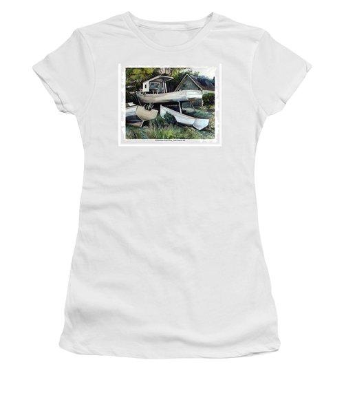 Richardson Boat Shop Women's T-Shirt