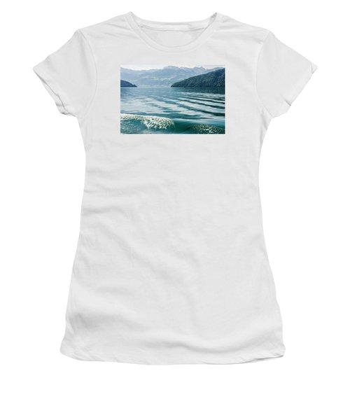 Ripples On Lake Lucerne Women's T-Shirt