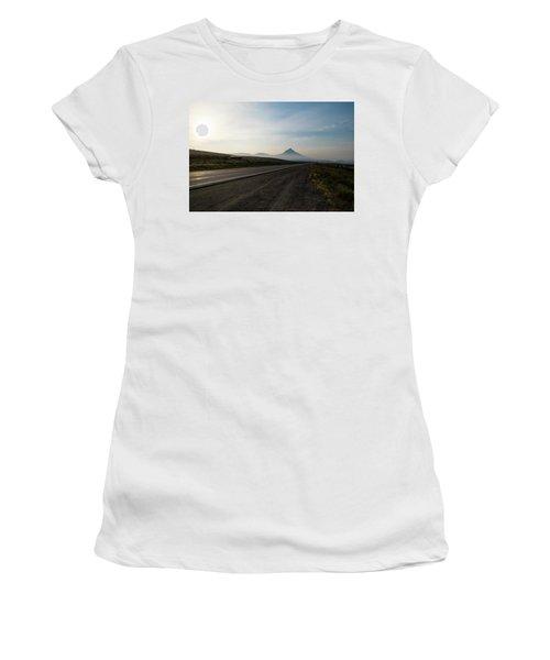 Road Through The Rockies Women's T-Shirt