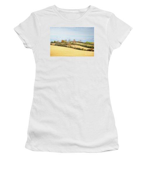 Rolling Hills In Fall Women's T-Shirt