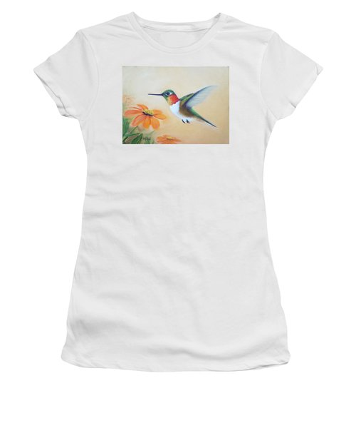 Rufous In Marigolds  Women's T-Shirt