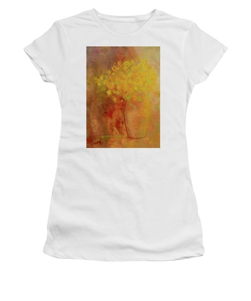 Women's T-Shirt featuring the painting Rustic Still Life by Valerie Anne Kelly