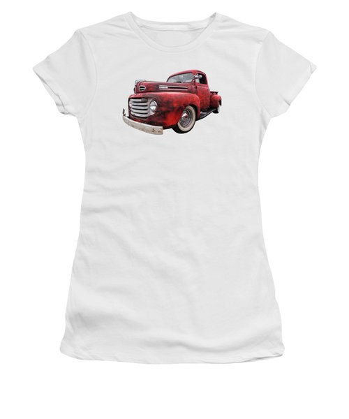 Rusty Jewel - 1948 Ford Women's T-Shirt
