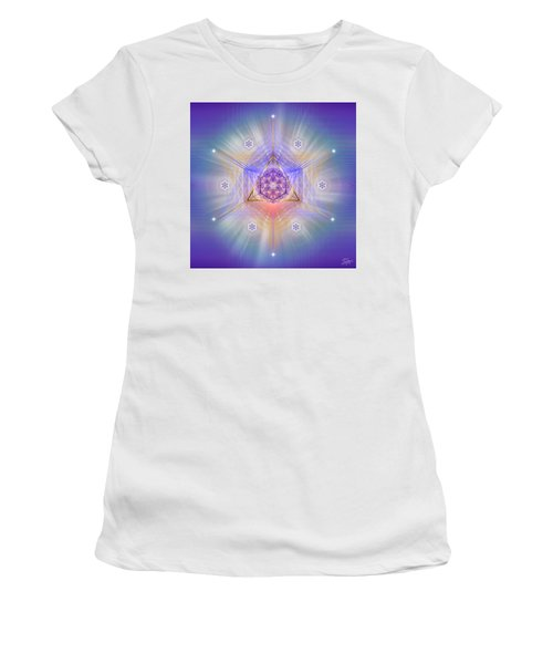Sacred Geometry 734 Women's T-Shirt