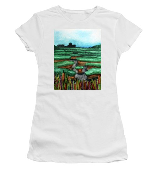 Saltwater Marshes Women's T-Shirt