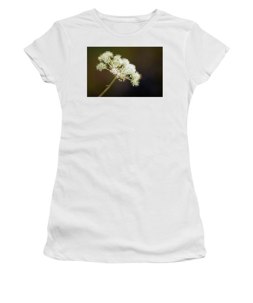 Scotland. Loch Rannoch. White Flowerhead. Women's T-Shirt