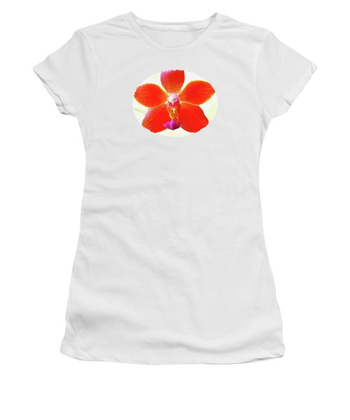 Screenplay Of An Orchid  Women's T-Shirt (Athletic Fit)