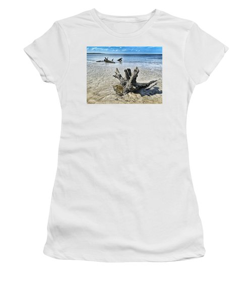 Sculpted By The Sea Women's T-Shirt