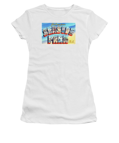 Seaside Park Greetings - Version 2 Women's T-Shirt