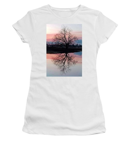 Serenity At Sunset Women's T-Shirt