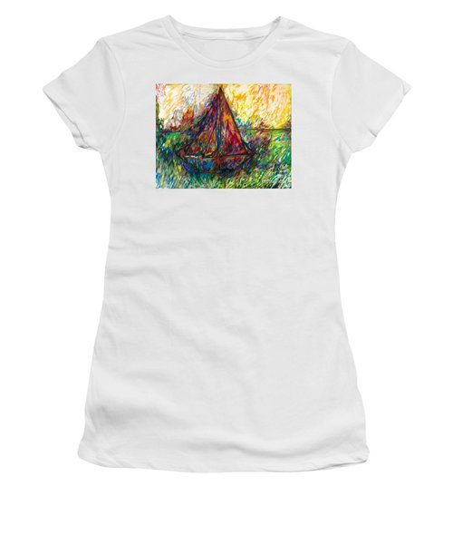 Ship In Color Women's T-Shirt