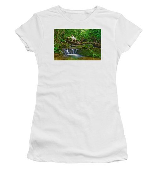 Sims Creek Waterfall Women's T-Shirt