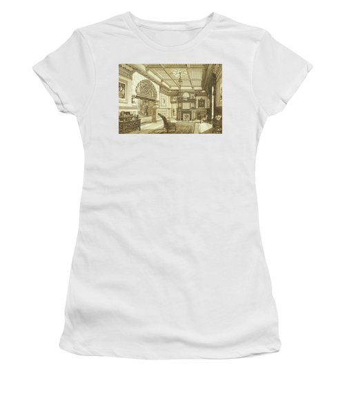 Sitting Room Of Bardwold, Merion Pa Women's T-Shirt