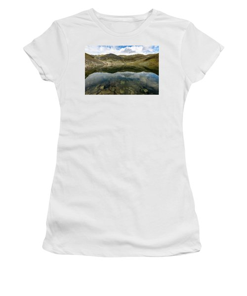 Women's T-Shirt featuring the photograph Skarsvotni, Norway by Andreas Levi