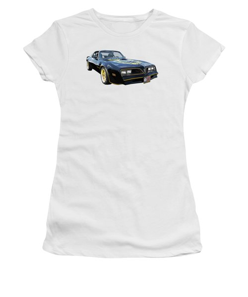 Smokey And The Bandit Trans Am Women's T-Shirt