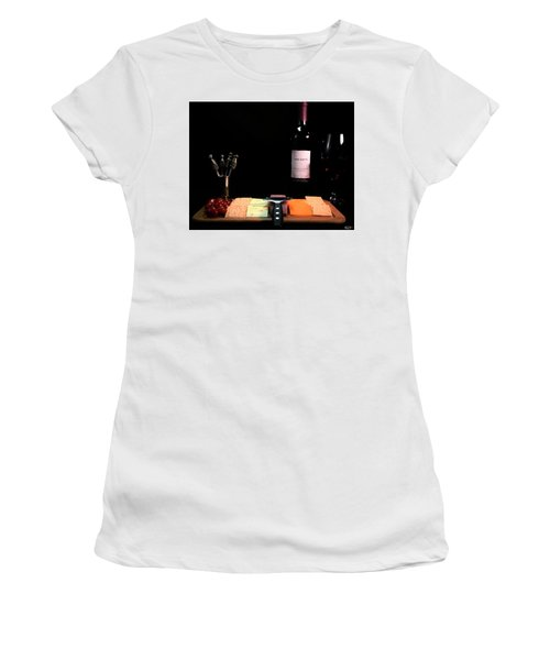 Snacks Are Served  Women's T-Shirt