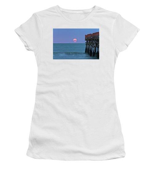 Snow Moon Women's T-Shirt