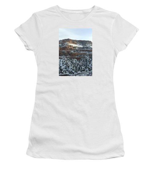 Snow Steps Women's T-Shirt
